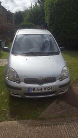 Toyota Yaris 1.3 Reliable Cheap first car