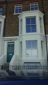 Stunning period 5 double bed property on walmer seafront with full plot,garden,garage,rear access