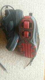Black and red Heelys size 2 - good condition.