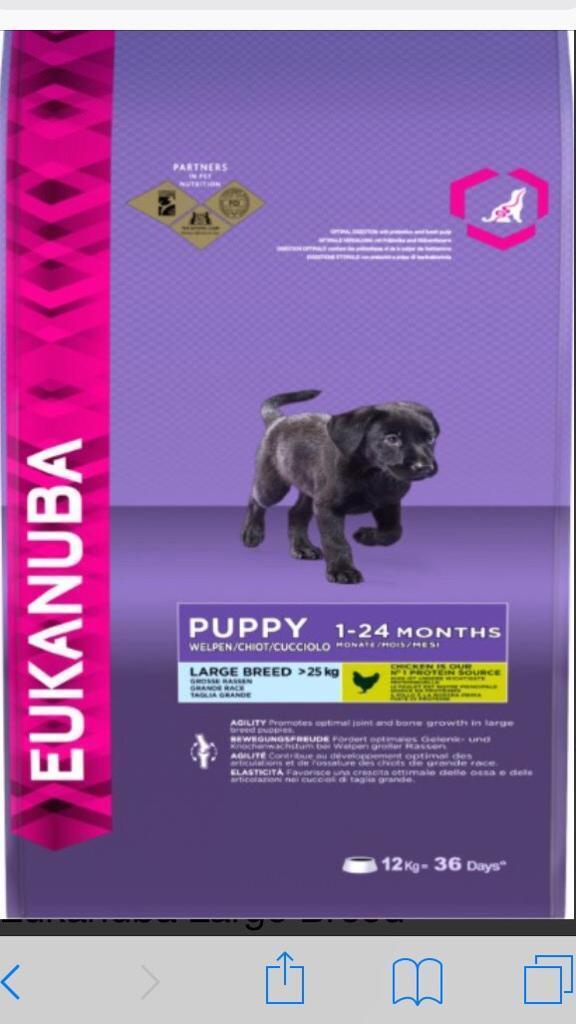 Eukanuba Puppy Food In Glenrothes Fife Gumtree