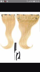 18 inch golden blonde hair extensions