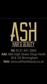 Rent a chair at Ash Hair & Beauty