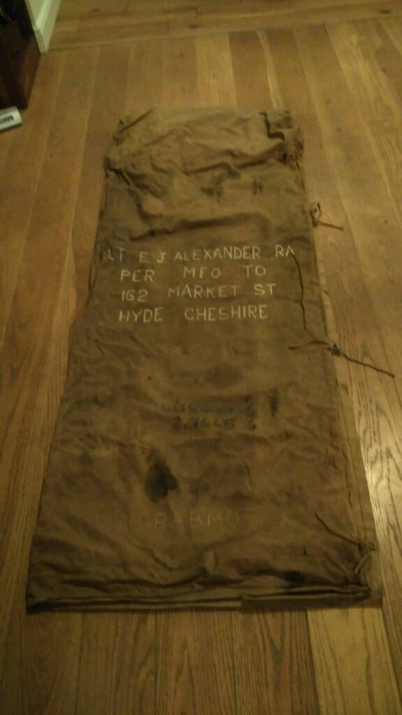 Ww2 Officers bed roll