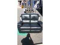2&3 seater leather reclining sofas