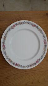 Vintage Paragon Belinda Fine Bone China 10 Inch Dinner Plates x 6