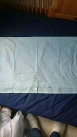 Cotbed flat sheet