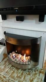 Bio fuel fire