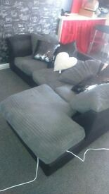 Corner sofa and scatter cushions good conditon pet and smoke free home