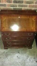 Mahogany Writing Bureau for sale
