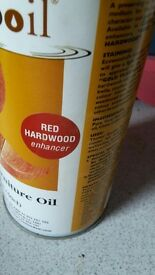Eco wood oil sustaining timber, Red Hardwood 500ml