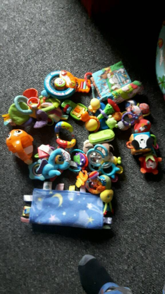 Baby rattles and other bits