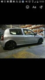 Clio 172 brakeing