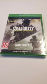 Xbox One Call Of Duty Infinite Warfare Legacy Edition with MWR DLC Brand New Sealed.
