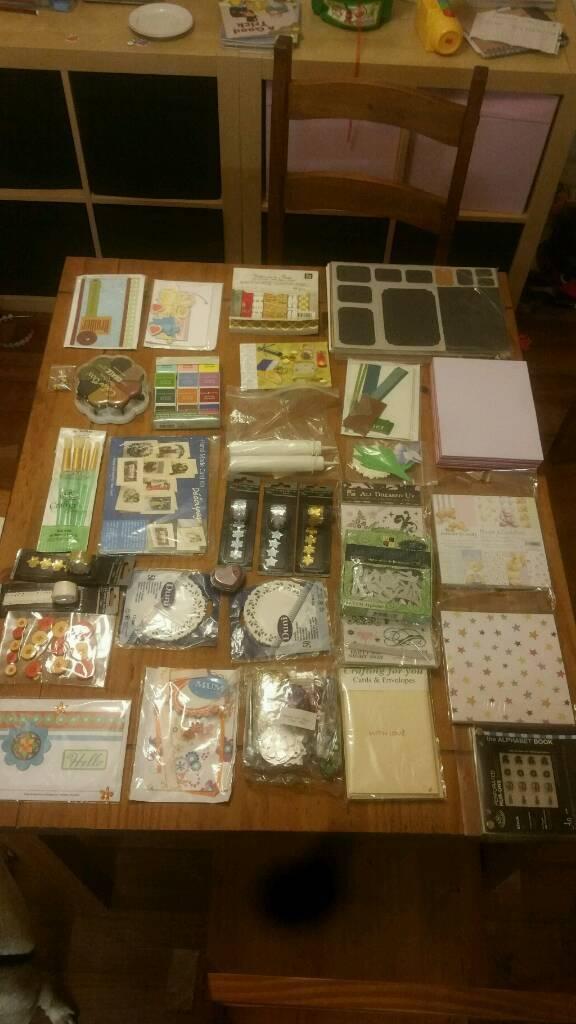 Card making craft bundle