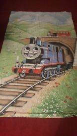 Thomas the Tank Engine 2 duvet sets with pillowcases and Thomas scarf