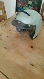 VINTAGE Cromwell moped vespa mods helmet.