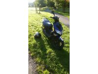 Peugeot Speed Fighter 2, Blue/Black 54 plate 7 months MOT