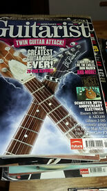 Guitarist magazines x 25 with discs in good condition Issues 278-303 £8 or make an offer!