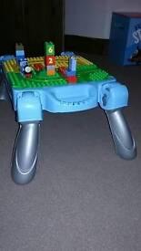Thomas lego table