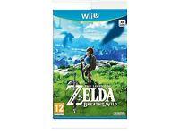 Zelda wii u game breath of the wild new