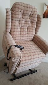 HSL Rise and Recline chair - As new - purchased for £1500 will sell for £750