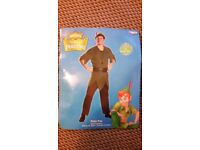 XL 42-46 Peter Pan fancy dress costume outfit Disney Adult