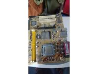 Asus P5S-MX SE Motherboard+Core 2 Duo E4500 Working Free