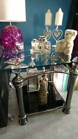 Stunning glass table prices drop now 60