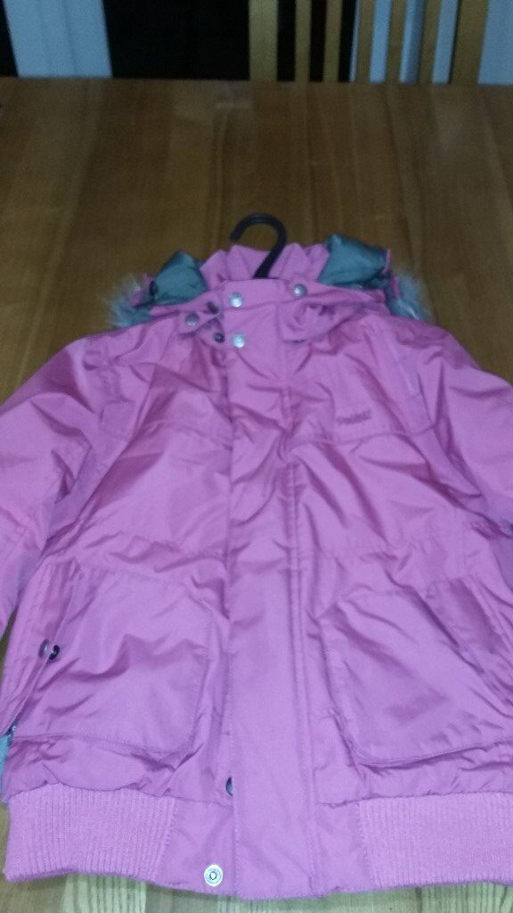 Girls Protest Pink Ski Jacket age 11-12 approx