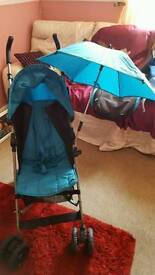 Mamas and papas light weight stroller