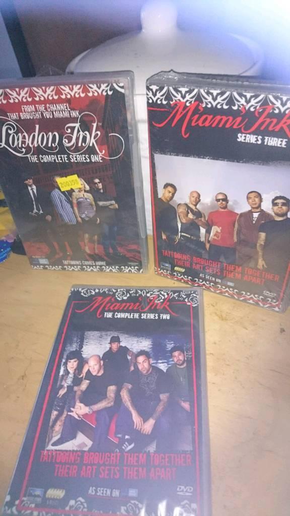 Miami ink (tattoo dvds)