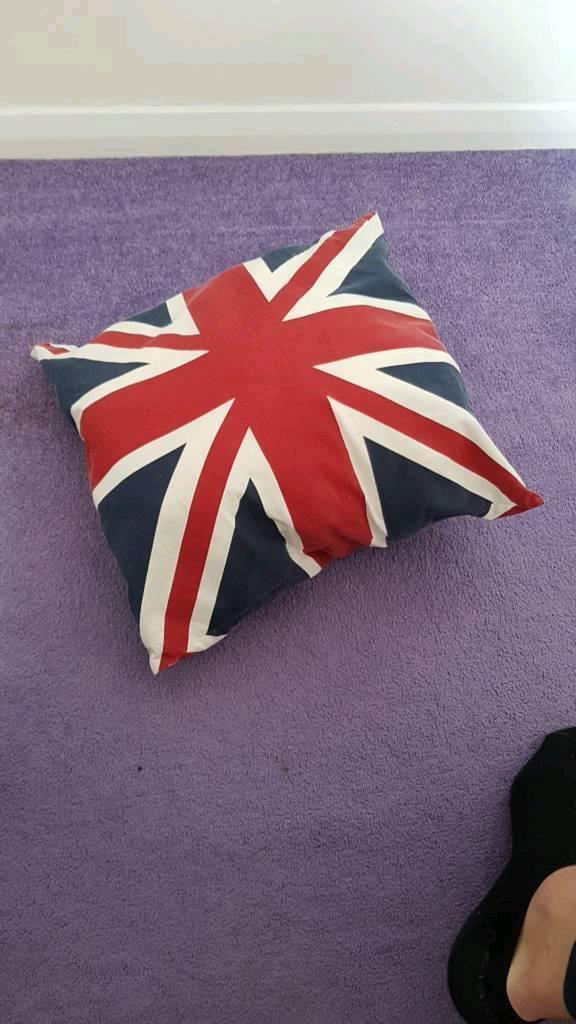 Union flag jack cushion 40x40cm