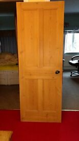 1930s internal pine door for sale !