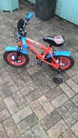 Spiderman toddler bike