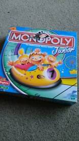 Junior Monopoly Board Game Ages 5 to 8