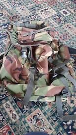 Three backpack/rucksack