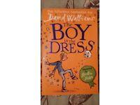 Boy in a dress by David Walliams