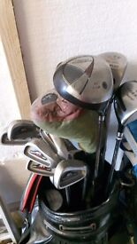 Full set of AFC golf clubs