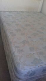 double bed with mattress and draws can deliver