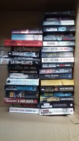 Crime fiction novels