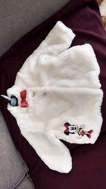 Disney Minnie Mouse coat 12-18 months