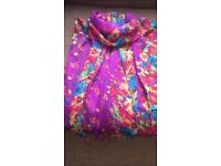 pretty floral light scarf new