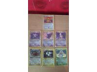 Pokemon rare Holo cards
