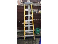 Fibreglass ladders 7 tread