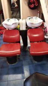 Complete hairdressing salon equipment