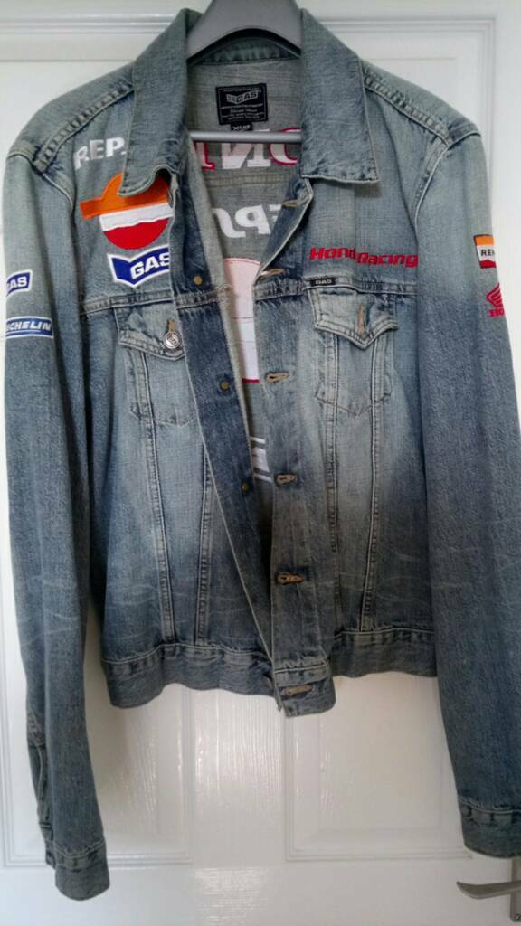 Repsol honda authentic gas jeans denim jacket | in Didcot ...