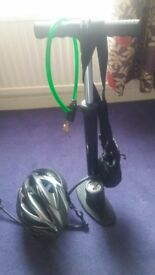 bike helmet pump lock