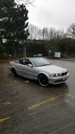 Bmw 320i convertible new car forces sale £1595