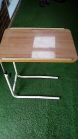 Rise and fall divan table