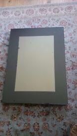 "Large Jasper Conran smoked box mirror 71cmx97cm 28""x38"". Still have box and packaging."